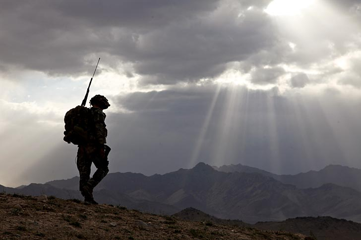 En amerikansk soldat på plats i Logar-provinsen i Afghanistan. Arkivfoto: U.S. Army/flickr