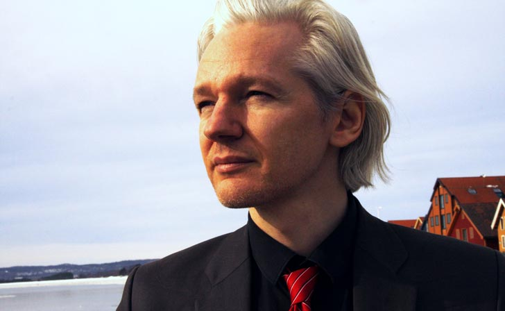 Julian Assange. Foto: Espen Moe/flickr