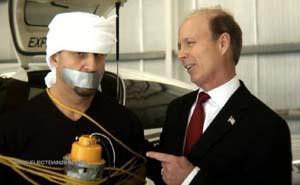 Republikansk reklamfilm. Bild från video