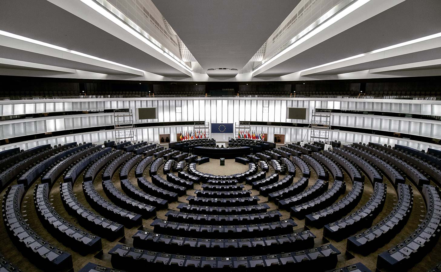 Europaparlamentet i Strasbourg, Frankrike. Foto: Frederic Köberl / Unsplash